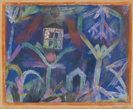 Paul Klee-Fenster Im Garten (Window in the Garden)-1918