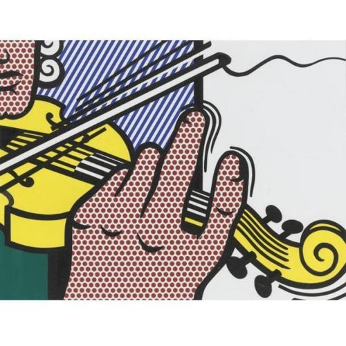 Roy Lichtenstein-Collage for Salzburger Festspiele-1991