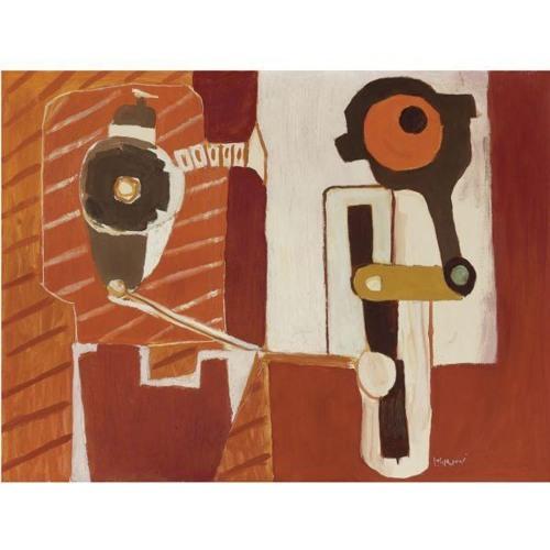 Roy Lichtenstein-Device-1954