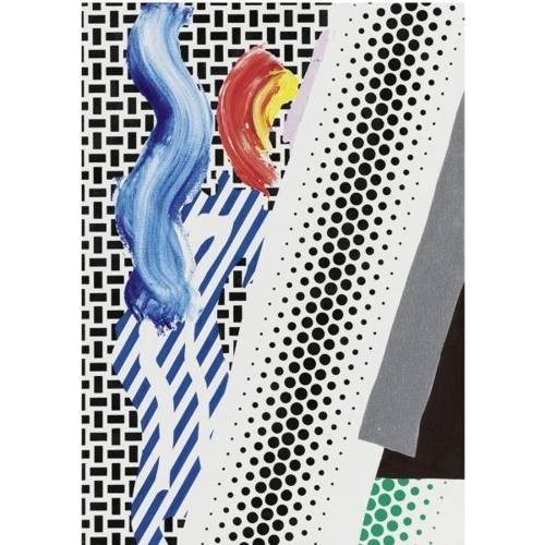 Roy Lichtenstein-Untitled Reflection-1989
