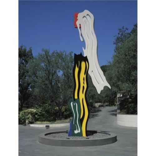Roy Lichtenstein-Five Brushstrokes-1994