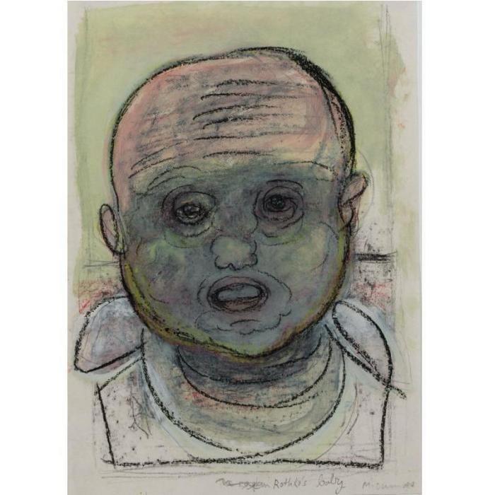 Marlene Dumas-Rothko's Baby-1987