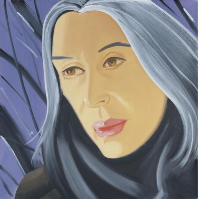 Alex Katz-Ada in Purple-1995