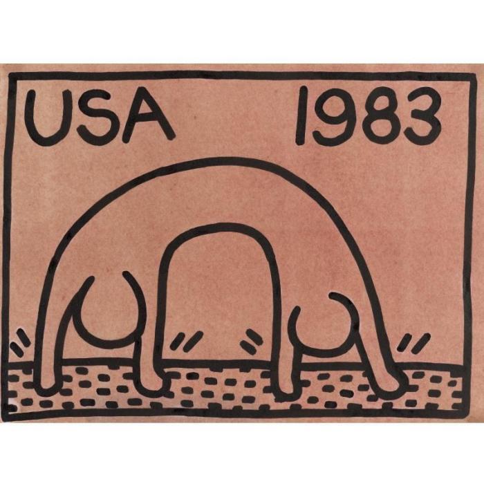 Keith Haring-Keith Haring - U.S.A 1983-1983