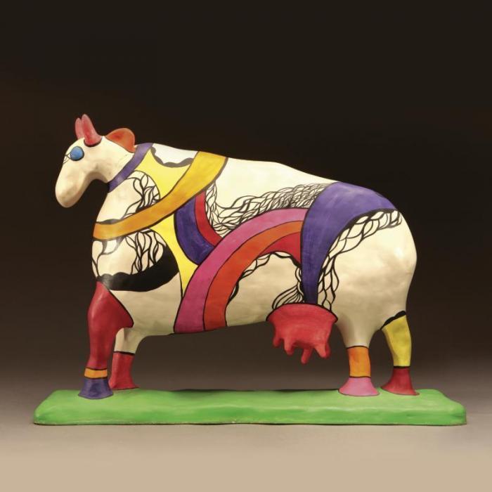 Niki de Saint Phalle-Cow-1975