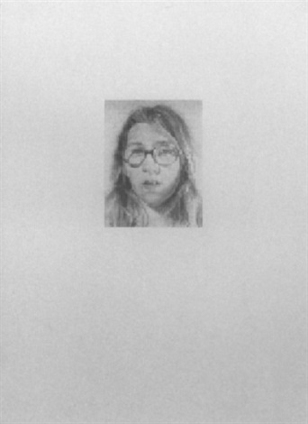 Chuck Close-Lisa P.-1974