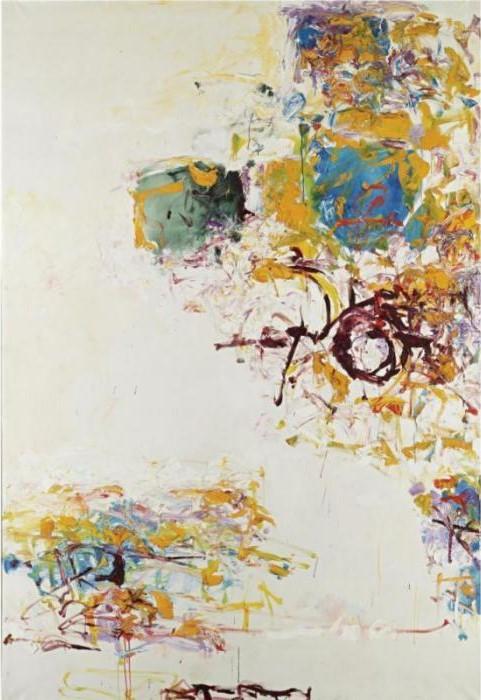Joan Mitchell-Sunflower IV-1969