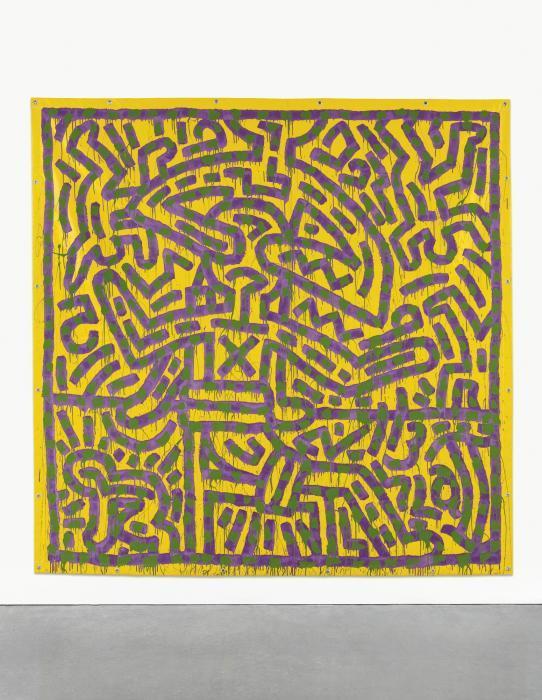 Keith Haring-Keith Haring - Untitled (January 16, 1982)-1982