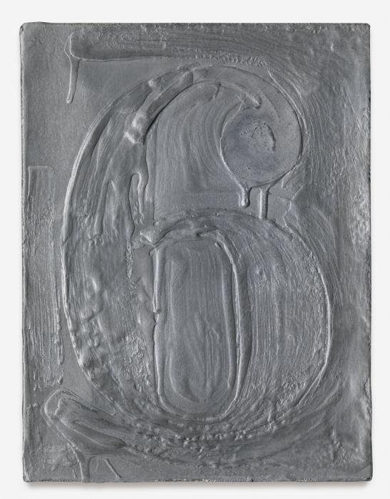 Jasper Johns-Figure 6-1972