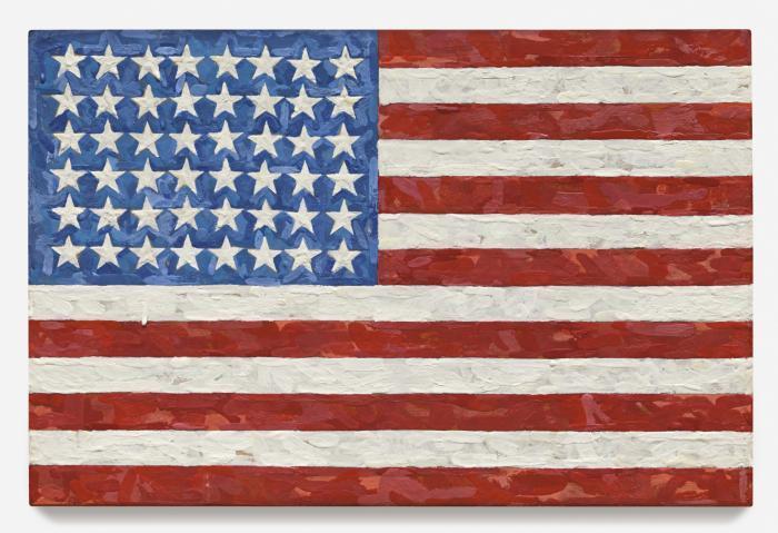 Jasper Johns-Flag-1983