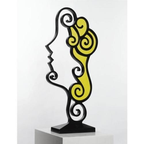 Roy Lichtenstein-Surrealist Head II-1988