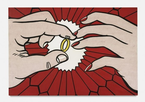 Roy Lichtenstein-The Ring (Engagement)-1962