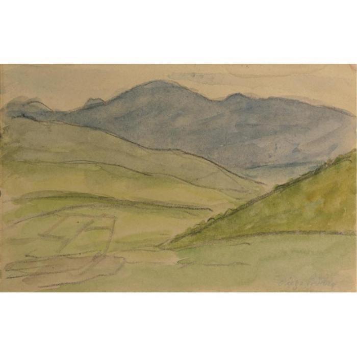 Diego Rivera-Landscape-