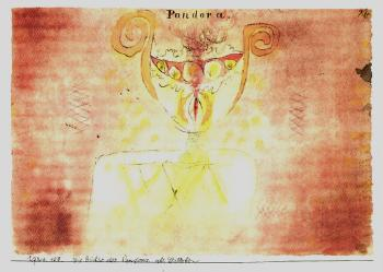 Paul Klee-Die Buchse Des Pandora Als Stilleben-1920