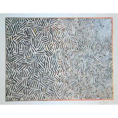 Jasper Johns-Corpse and Mirror-1976