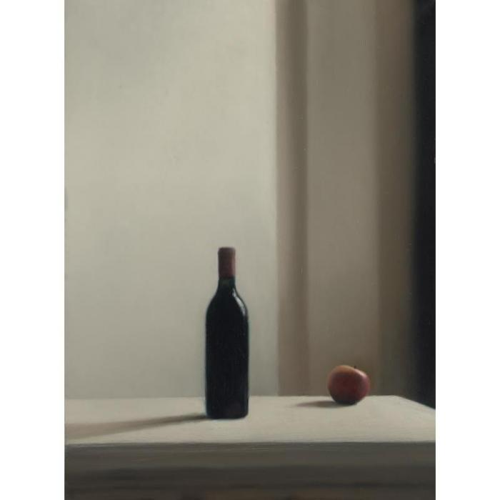 Gerhard Richter-Flasche mit Apfel (Bottle with Apple)-1988