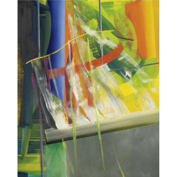 Gerhard Richter-Abstraktes Bild 554-1 (Abstract Painting 554-1)-1984