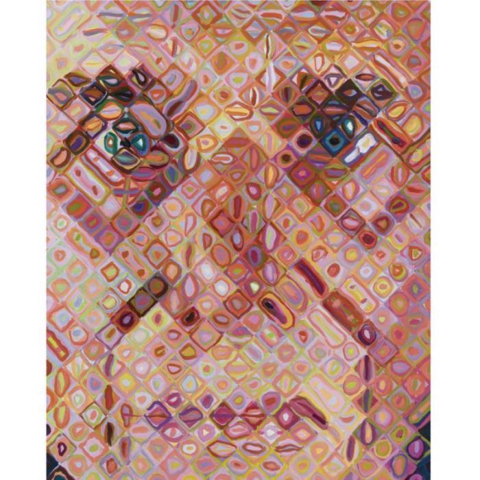 Chuck Close-Paul II-1996
