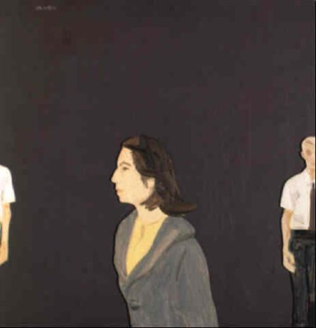 Alex Katz-Purple series 5-1964