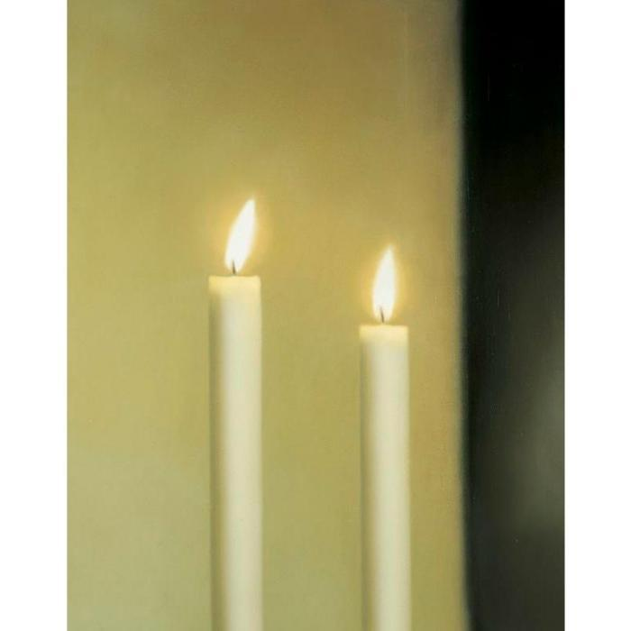 Gerhard Richter-Zwei Kerzen (546-1) / Two Candles (546-1)-1983