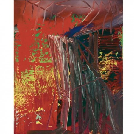 Gerhard Richter-Abstraktes Bild 592-3 (Abstract Painting 592-3)-1986