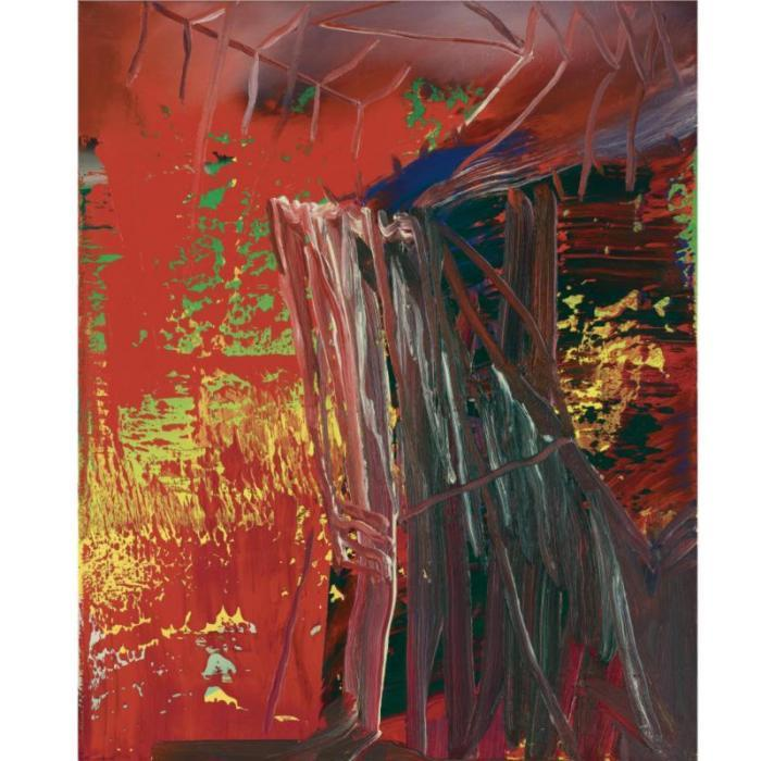 Gerhard Richter-Abstraktes Bild 592-3 (Abstract Painting 592-3)-1986