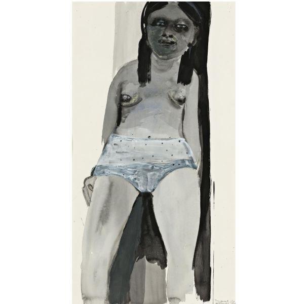 Marlene Dumas-Transparent Slip-1996
