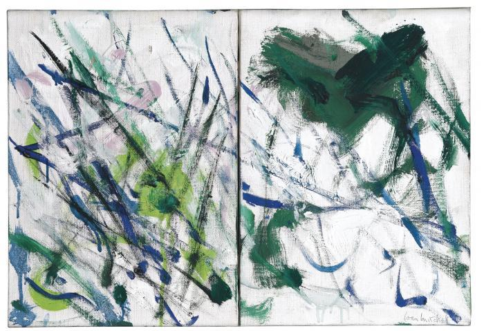 Joan Mitchell-Little Rain-1989