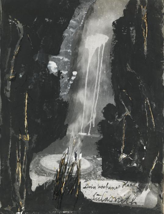 Anselm Kiefer-Dein Aschenes Haar, Sulamith-1984