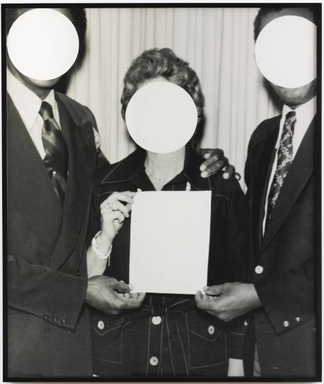 John Baldessari-3 Voided Persons-1999