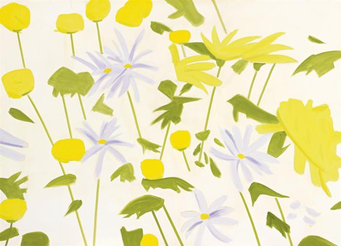 Alex Katz-Field Flowers I-2011