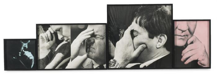 John Baldessari-Five Male Thoughts (One Frontal)-1996