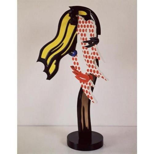 Roy Lichtenstein-Brushstroke Head II-1987