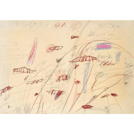 Cy Twombly-First Part of the Return from Parnassus-1961