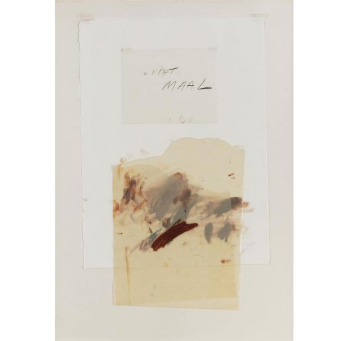 Cy Twombly-Lichtmaal IV-1976