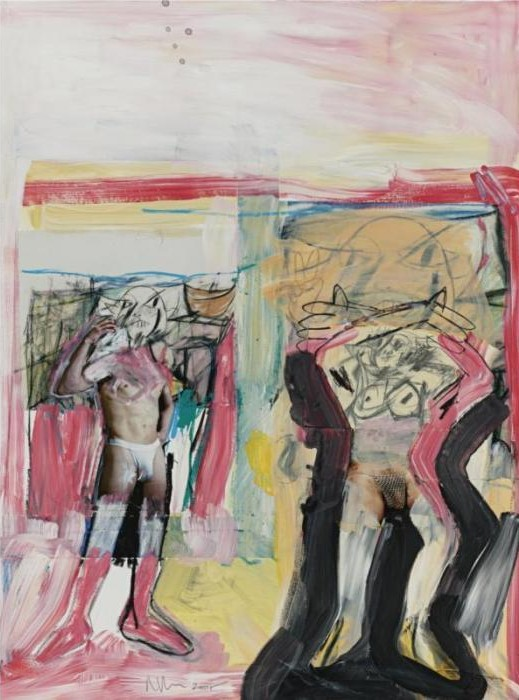 Richard Prince-Untitled (With De Kooning)-2005
