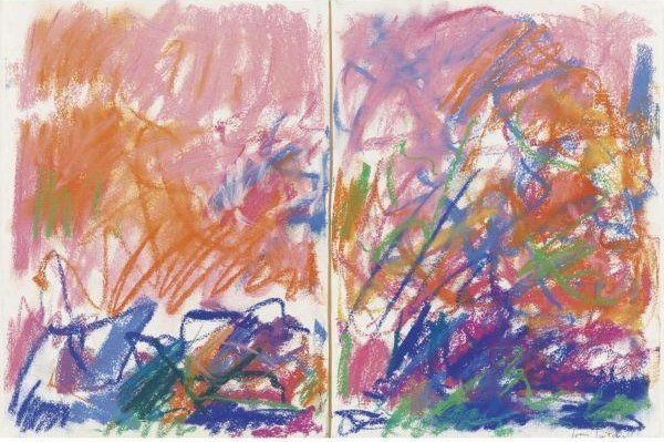 Joan Mitchell-Untitled (Diptych)-1980