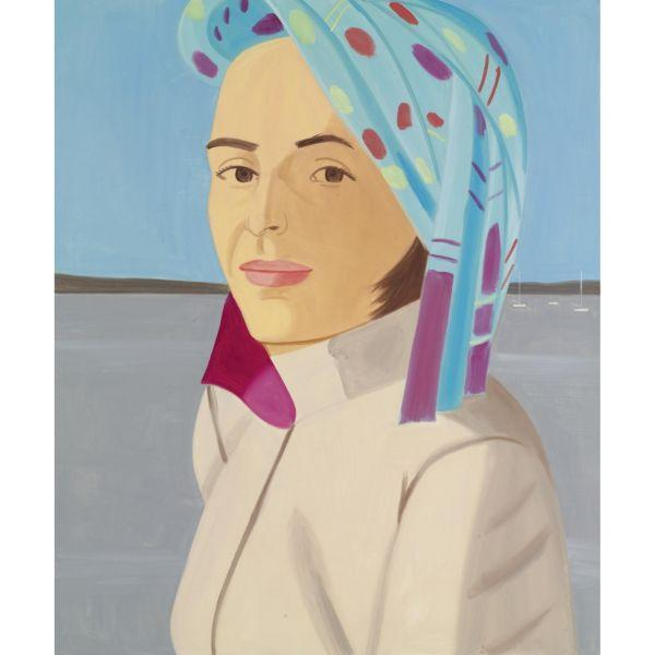 Alex Katz-Blue Hat-2003