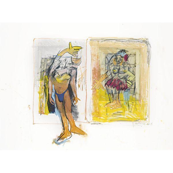 Richard Prince-Untitled (With De Kooning)-2006