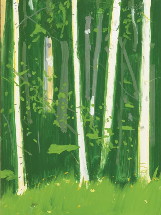Alex Katz-Poplars 1-2003