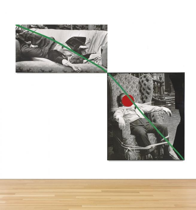 John Baldessari-A Fix'd Inflexible Sorrow-1988
