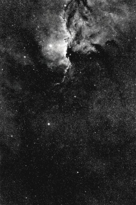 Thomas Ruff-Stern 16h30m - 50 degrees-1989