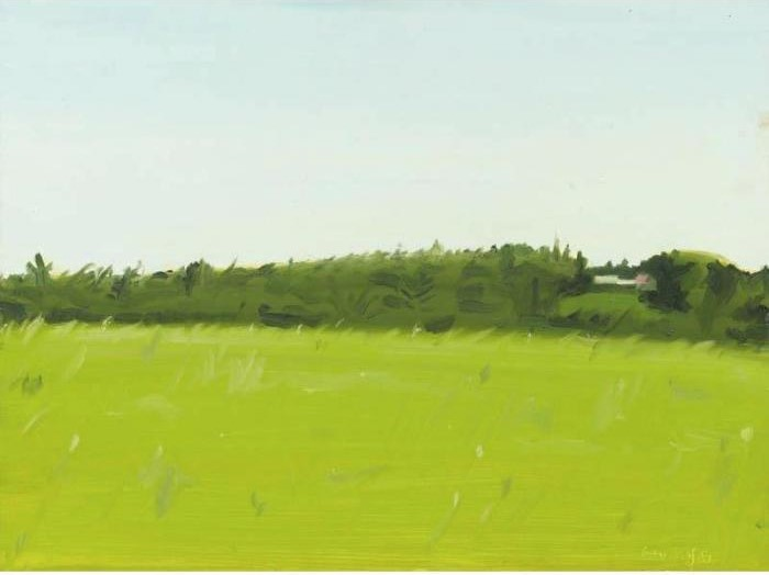 Alex Katz-Landscape with Trees-1981