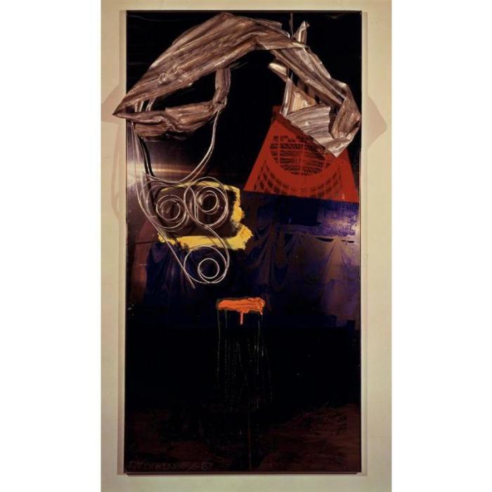 Robert Rauschenberg-Robert Rauschenberg - Untitled (Shiner Series)-1987