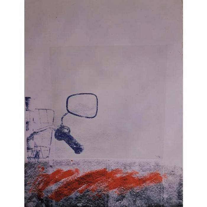 Robert Rauschenberg-Robert Rauschenberg - Sky Ride (Passes)-1988