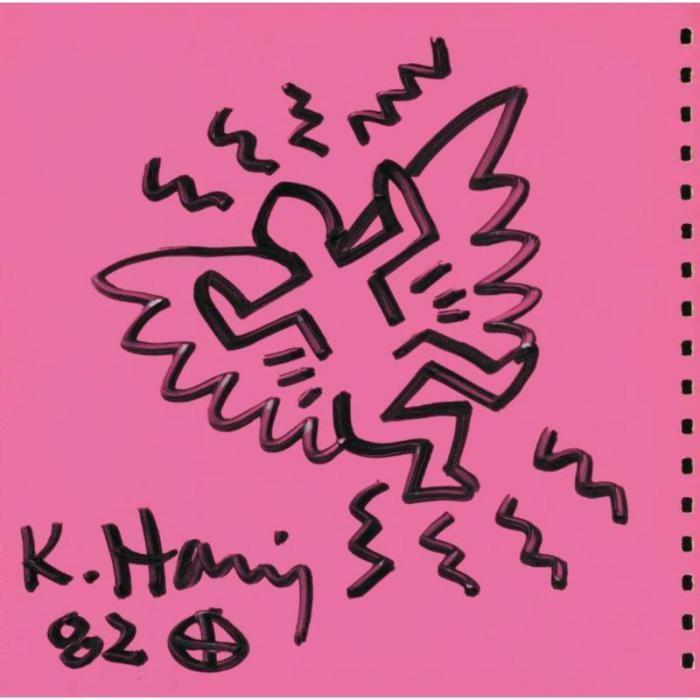 Keith Haring-Keith Haring - Angel-1982