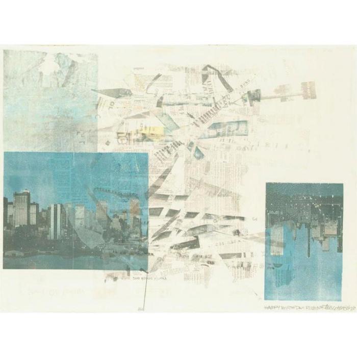 Robert Rauschenberg-Robert Rauschenberg - Untitled-1982