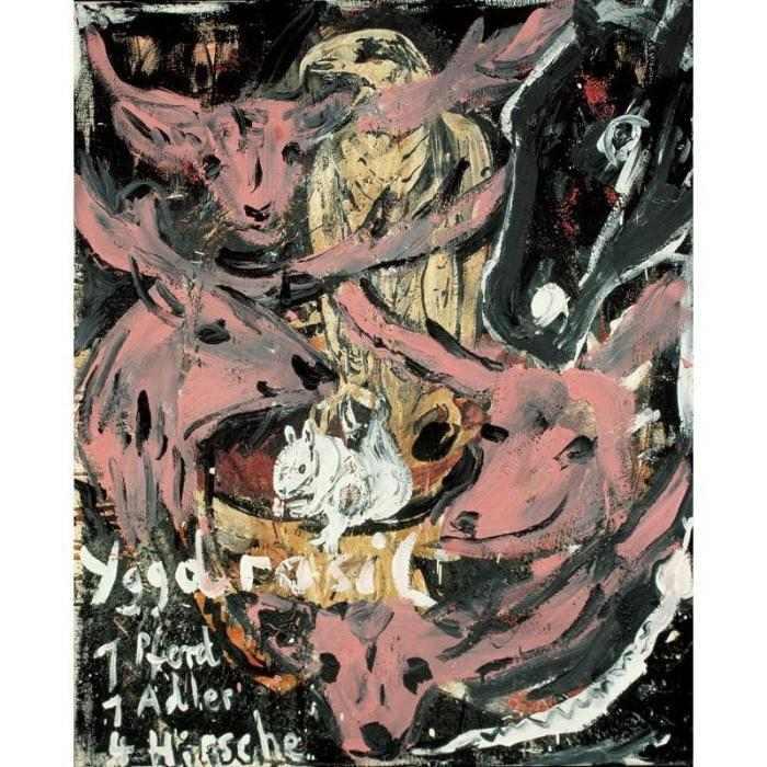 Anselm Kiefer-Yggdrasil-1979