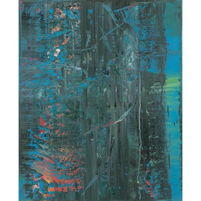 Gerhard Richter-Abstraktes Bild 618-4 (Abstract Painting 618-4)-1986