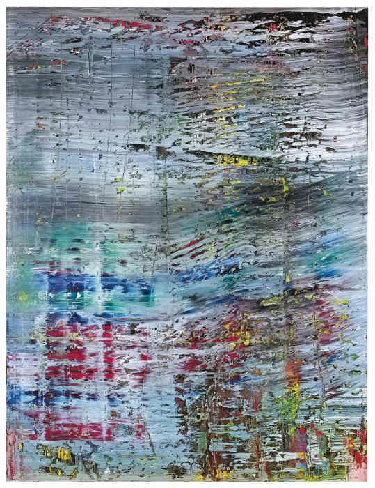 Gerhard Richter-Abstraktes Bild 712 (Abstract Painting 712)-1990
